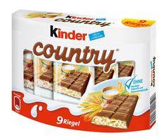 Ferrero Kinder Country Chocolate Bars