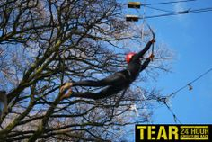 Amazing action shot of TotalExperience.ie TEAR Adventure Race 2013!!