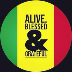 Give thanks..