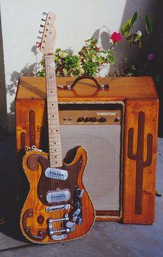 Summertone Amp and Rope/Frankencaster 1991 by TK Smith, via Flickr