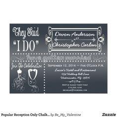 Post Wedding Party Invitation