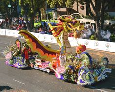 See the Tournament of Roses Parade in Pasadena, CA