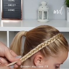 A braided headband is such a comfortable hairstyle! A braided headband is such a comfortable hairstyle! Baby Girl Hairstyles, Box Braids Hairstyles, Hairstyles With Headbands, Kids Hairstyle, Formal Hairstyles, Girl Hair Dos, Natural Hair Styles, Short Hair Styles, Toddler Hair