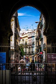 Seville Streets by Peter Stasiewicz, via 500px