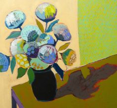 I love these paintings by Lulie Wallace!