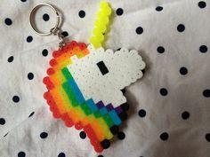Hey, I found this really awesome Etsy listing at https://www.etsy.com/listing/194999042/rainbow-unicorn-perler-bead-keychains