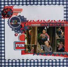 Kaisercraft 'BLAST OFF' Scrapbooking Layouts, Family Photos, Fun, Inspiration, Family Pictures, Biblical Inspiration, Scrapbook Layouts, Family Photo, Family Photography