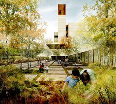 Graeme Massie Architects premiado com o terceiro lugar no concurso Liget Budapest