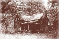 Haunted Civil War House in the Woods outside of Montgomery, Alabama