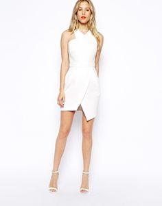 ASOS Asymmetric Dress With Step Hem - Bridesmaids maybe a bit longerrr