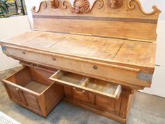 French Double Butchers Block 7