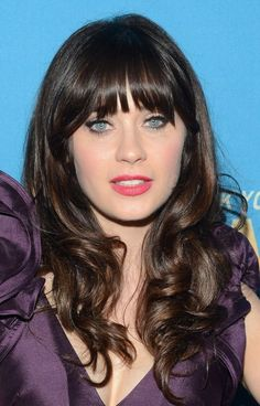 Hairstyles with Bangs for Elegant Appearance | Fashionaon