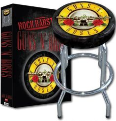 Bar Stool Guns N Roses