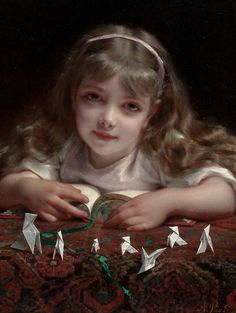 Origami Dreams - Etienne Adolphe Piot (1850 - 1910)