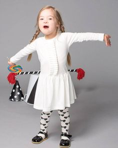 Four-year-old girl with Down's syndrome rocks the socks off back-to-school ad