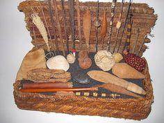 original ancient chancay weavers basket pre columbian