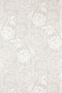 Peony wallpaper from Farrow & Ball | via Ill Seen, Ill Said http://seenandsaid.blogspot.com/2011/06/three-of-kind_09.html