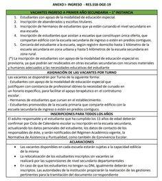 RÉGIMEN SECUNDARIA – Secretario Mike Complex System, School Calendar, Education System