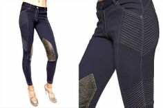 Edgy breeches for fabulous Equestrians from GhoDho on Horses & Heels