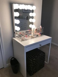 """My small and """"Minimal-esque"""" Vanity"""