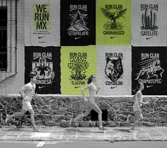 NIKE run clans – mexico city runners asked to represent their neighborhood - designboom   architecture