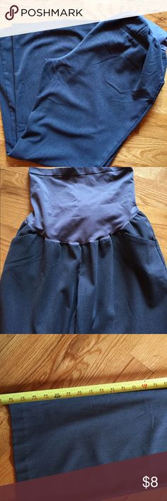 Motherhood maternity gray dress slacks Full panel gray dress slacks in petite large. Good condition. Please see my posh profile to see how I rate clothing conditions. Motherhood Maternity Pants Trousers