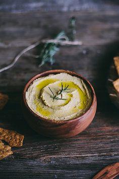 Garlic Rosemary Hummus | Adventures in Cooking by Eva Kosmas Flores, via Flickr