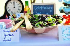 Cinderella's Garden Salad