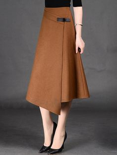 ファッション新作不規則裾のデザインのニットスカート ボトムスは格安とか人気のものなどいろいろな種類があり、ここで。一番のサービスと最高品質の商品Doresuweで提供しています。