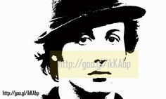 Graffiti Airbrush Stencils - Rocky Balboa