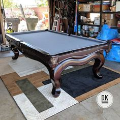 Foot ABC Tiburon Pool Table In Irvine I Moved It From Fountain - Tiburon pool table