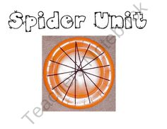 Spider Unit to use with your smartboard product from Wonder-Kinders on TeachersNotebook.com