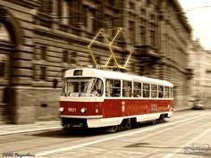 Prague tram by PaSt1978.deviantart.com on @deviantART