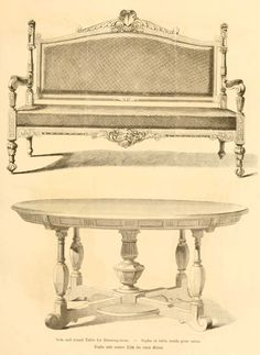 img/dessins meubles mobilier/sofa et table ronde pour salon.jpg