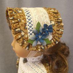 "Hat for 18"" AG dolls by idreamofjeannemarie via eBay Sold 9/21/17"