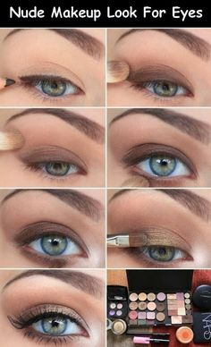 Nude Makeup For Eyes