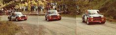 Bruno Saby-Françoise Sappey-42º Tour de France Automobile 1983. Renault 5 Turbo. Abandonó por rotura de turbo en SS29.