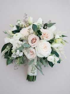 Winery Wedding in Temecula at Lorimar Winery Blush, white, and green wedding bouquet.//love this bouquet shape ams white, and green wedding bouquet.//love this bouquet shape ams Amazon Flowers, Bride Bouquets, Bridesmaid Bouquets, Wedding Flower Bouquets, Wedding Bridesmaids, Spring Wedding Flowers, Green And White Wedding Flowers, Classic Wedding Flowers, Neutral Wedding Flowers