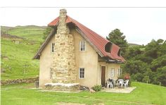 Bride's veil Cottage, Drakensberg, SOUTH AFRICA