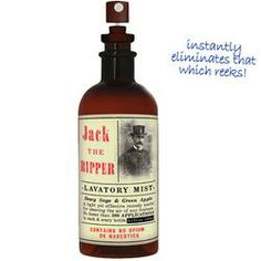 Jack The Ripper Lavatory Mist  $11.99 #gifts #funny #dad