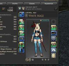 Final Fantasy 14 XIV lvl 60 White Mage PS4 PC Raid rdysparen25.com , sparen25.de , sparen25.info
