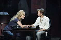 Production shots from the Danish LOVE NEVER DIES