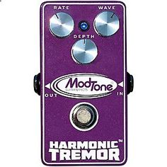 Guitar Pedals - Get the guaranteed best price on Tremolo amp; Vibrato Effects Pedals like the Modtone Vintage Harmonic Tremeor Guitar Pedal at Musician#39;s Friend. Get a low price and free shipping on thousands of items.