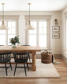 Dining Room Inspiration, Home Decor Inspiration, Decoration Entree, Dining Room Design, Home And Living, Home Kitchens, Living Spaces, Living Room, Kitchen Decor