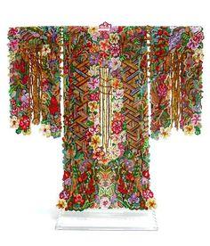 Kimono as art, definitely. By Sharmini Wirasekara