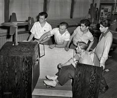 One of the first flight simulator 1942