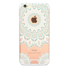 Lovely Mandala Pattern Phone Case for iPhone 4/4S/SE/5/5S/5C/6/6S/6Plus