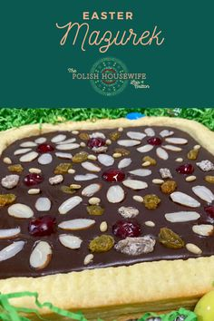 When I lived in Poland, Mazurek was the Easter pastry that all of my friends were making. I was fortunate to sample several of these beautifully decorated shortcrust tarts topped with layers of goodness. You'll want to check out this Easter Mazurek recipe! Polish Desserts, Polish Recipes, Polish Food, Yummy Treats, Delicious Desserts, Polish Easter, Great Recipes, Favorite Recipes