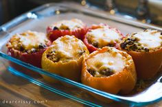 The Best Stuffed Peppers Recipe! 5/5 kalob really liked them. The peppers actually got soft enough to cut with a fork and eat, they weren't just a vessel