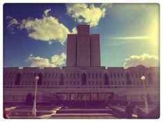 Здание библиотеки в Омске.